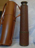 '   WW2 ' Broadhurst CLarkson 3 Draw SCOUT REGIMENT MK2 S Sniper Spotting Telescope c/w Leather Case -RARE-NICE- £199.99